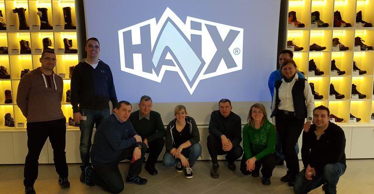 Strokovna ekskurzija v podjetje Haix 2017